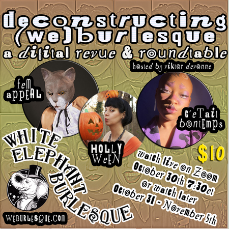 Deconstructing (WE)Burlesque