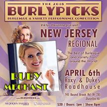 Tickets for NJ Burlypicks 2018